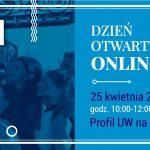 25 kwietnia: Dzień Otwarty UW Online